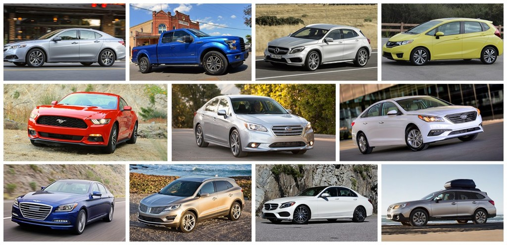 2015 TCC Best Car To Buy Nominees