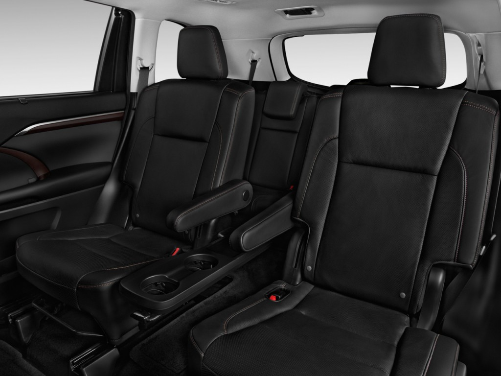 image 2015 toyota highlander fwd 4 door v6 limited platinum natl rear seats size 1024 x 768. Black Bedroom Furniture Sets. Home Design Ideas