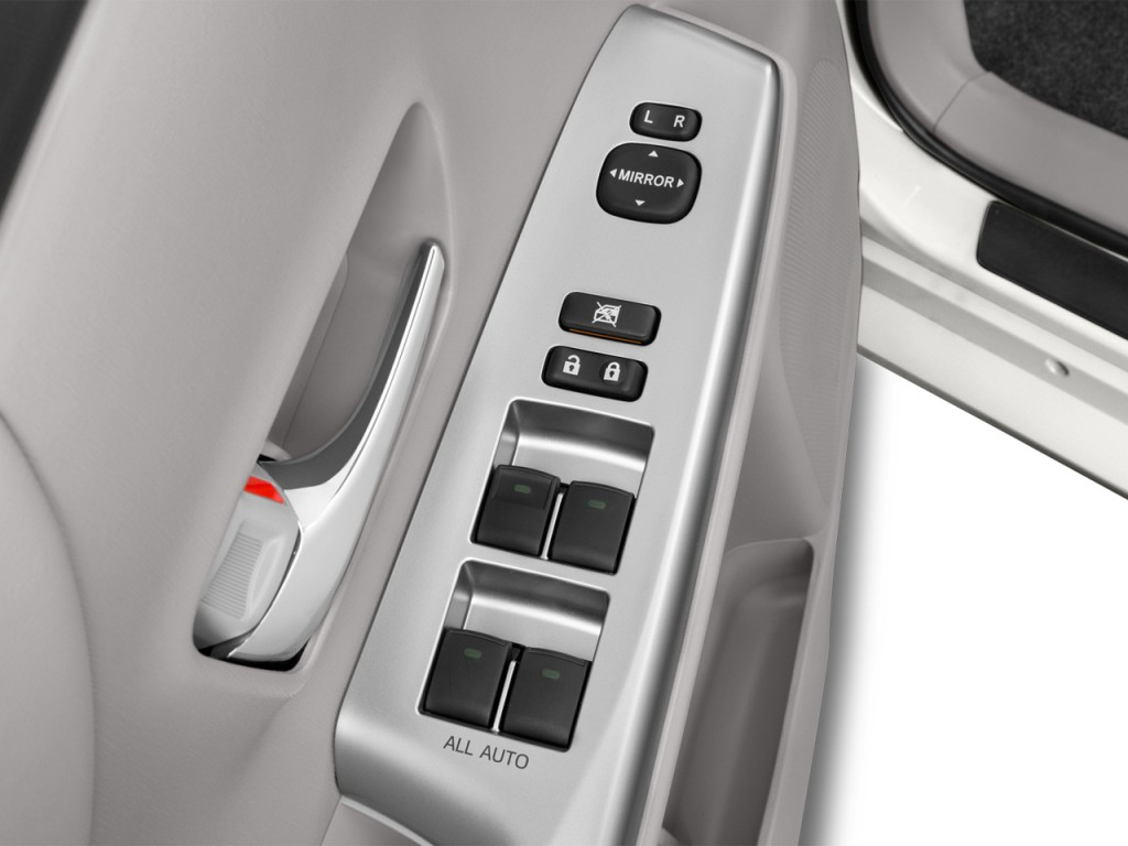 toyota wagon how to open control