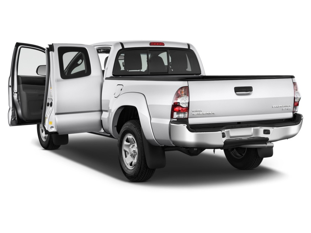 2015 Toyota Tacoma 2WD Access Cab I4 AT PreRunner (Natl) Open Doors  sc 1 st  Green Car Reports & Image: 2015 Toyota Tacoma 2WD Access Cab I4 AT PreRunner (Natl) Open ...