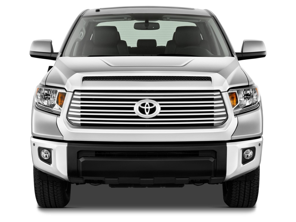 Image: 2015 Toyota Tundra Front Exterior View, size: 1024 x 768 ...