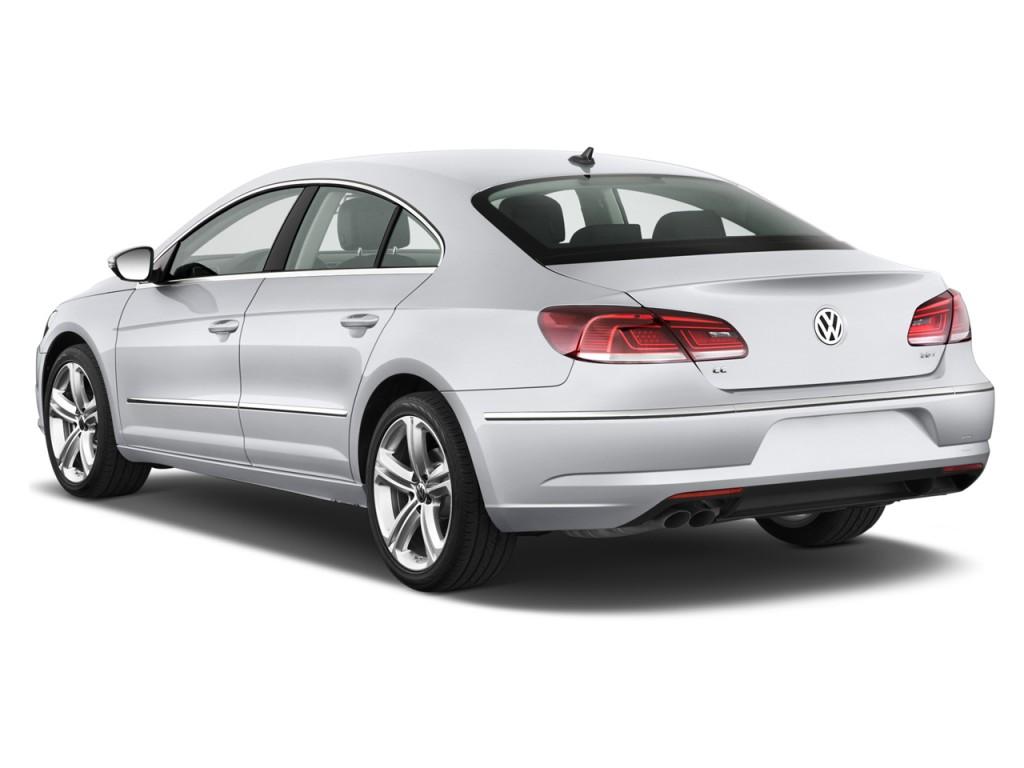Image: 2015 Volkswagen CC 4-door Sedan DSG Sport Angular Rear Exterior View, size: 1024 x 768 ...