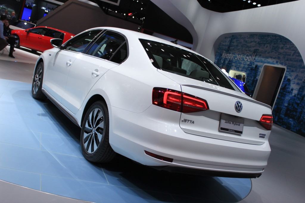2017 Volkswagen Jetta Hybrid New York Auto Show
