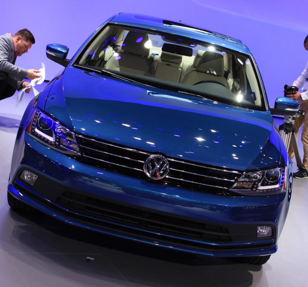 Image: 2015 Volkswagen Jetta TDI, 2014 New York Auto Show