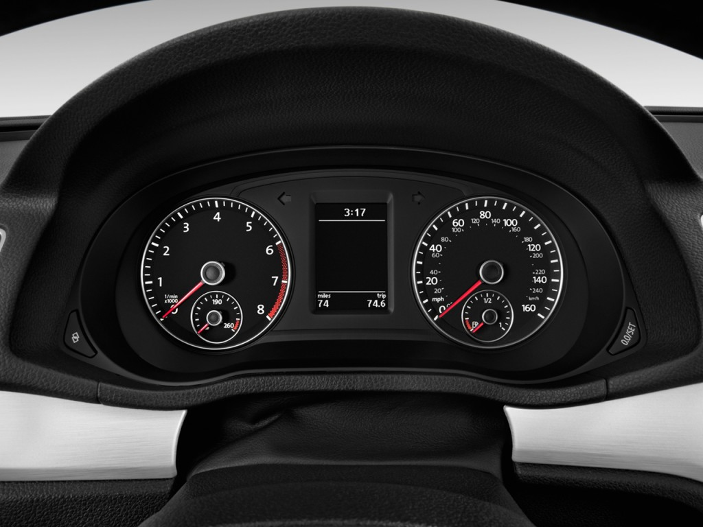 image 2015 volkswagen passat 4 door sedan 1 8t auto se instrument cluster size 1024 x 768. Black Bedroom Furniture Sets. Home Design Ideas