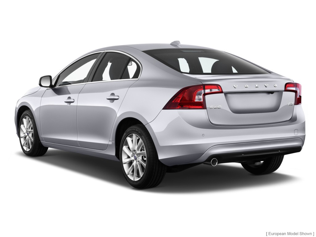 Image: 2015 Volvo S60 4-door Sedan T5 AWD Angular Rear ...