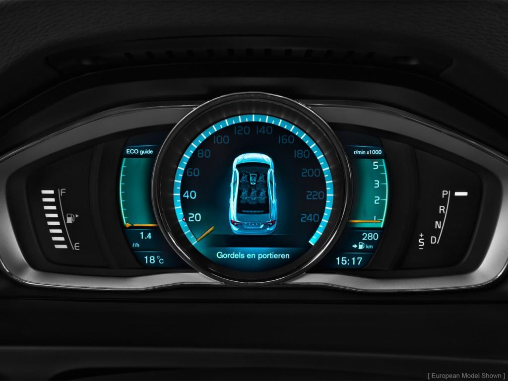 Image 2015 Volvo S60 4 Door Sedan T5 Awd Instrument