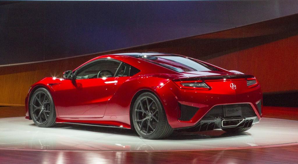 2017 Acura NSX live photos, 2015 Detroit Auto Show