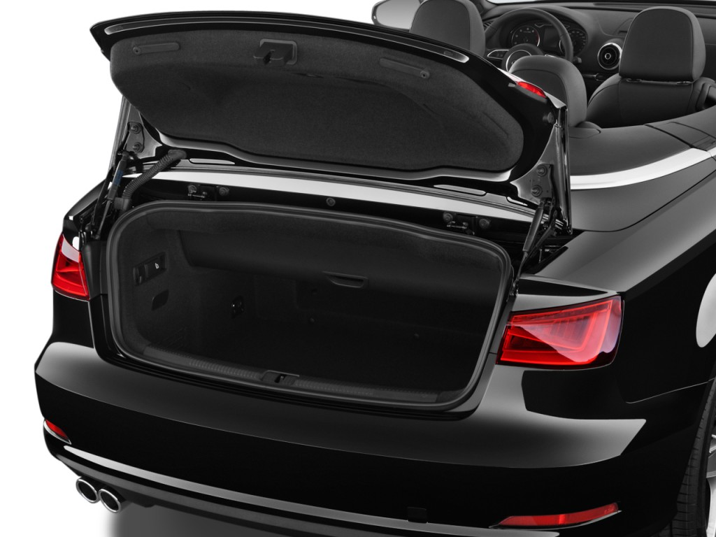 Image: 2016 Audi A3 2-door Cabriolet FWD 1.8T Premium Trunk, size: 1024 x 768, type: gif, posted ...