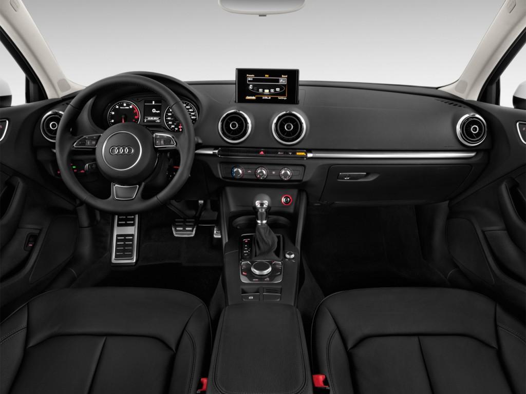 Used Hyundai Veloster Turbo >> Image: 2016 Audi A3 4-door Sedan FWD 1.8T Prestige Dashboard, size: 1024 x 768, type: gif ...
