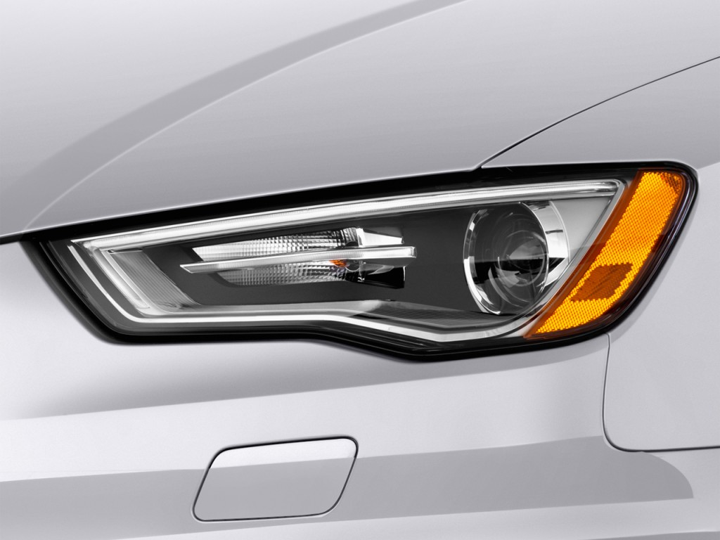 Image: 2016 Audi A3 4-door Sedan FWD 1.8T Prestige Headlight, size: 1024 x 768, type: gif ...