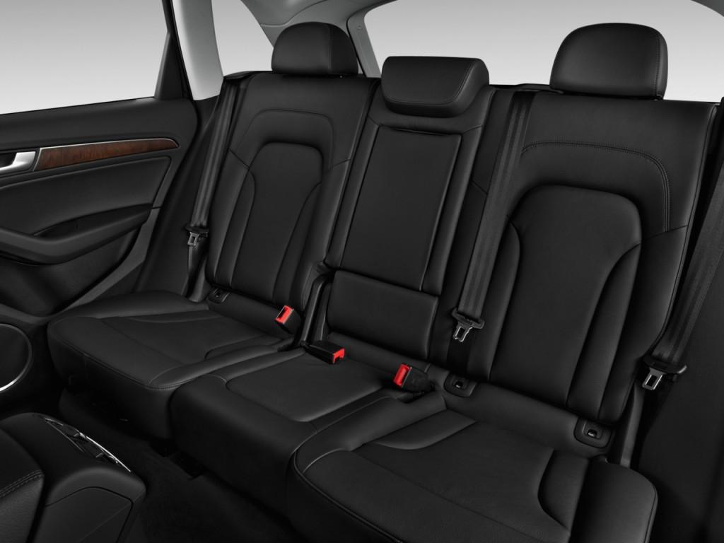 Image: 2016 Audi Q5 quattro 4-door 2.0T Premium Rear Seats ...