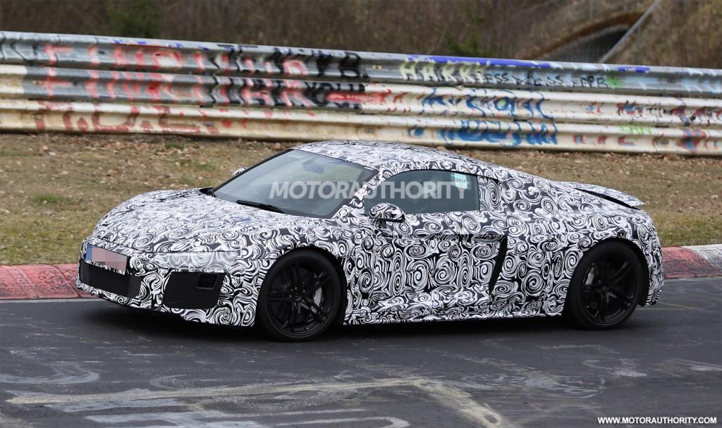 2016 Audi R8 spy shots