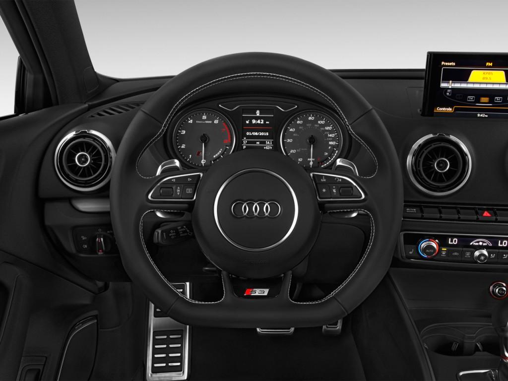 image 2016 audi s3 4 door sedan quattro 2 0t premium plus steering wheel size 1024 x 768. Black Bedroom Furniture Sets. Home Design Ideas