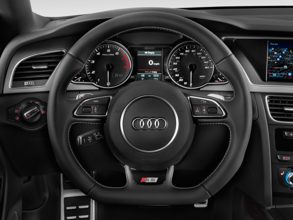 Image: 2016 Audi S5 2-door Coupe Auto Premium Plus Steering Wheel, size: 1024 x 768, type: gif ...