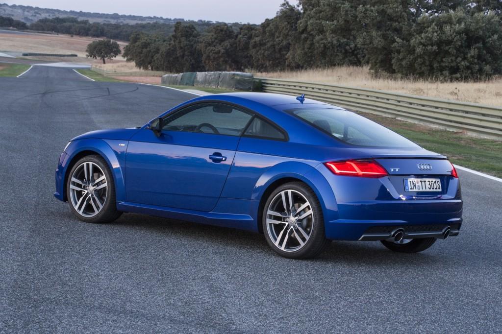 Image: 2016 Audi TT First Drive (Euro spec) - Spain ...