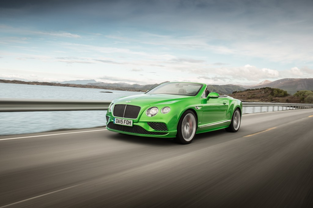 2016 Bentley Continental GT Speed first drive review