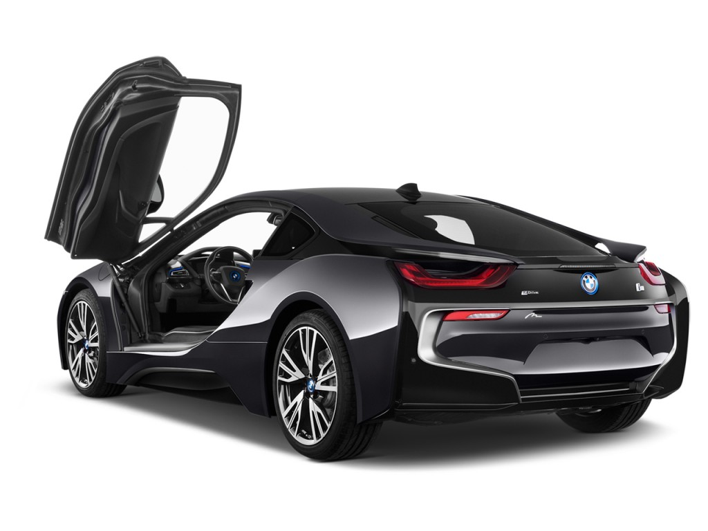 Image 2016 bmw i8 2 door coupe open doors size 1024 x for Door 2 door cars