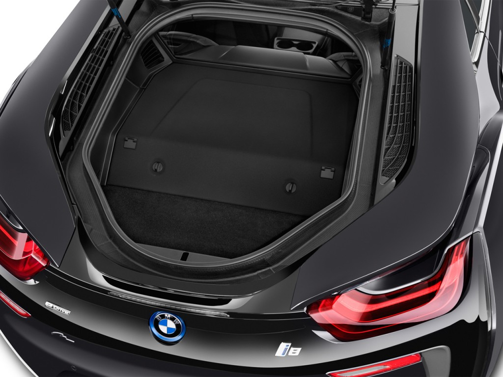 2016 Dodge Charger 2 Door >> Image: 2016 BMW i8 2-door Coupe Trunk, size: 1024 x 768, type: gif, posted on: January 4, 2016 ...