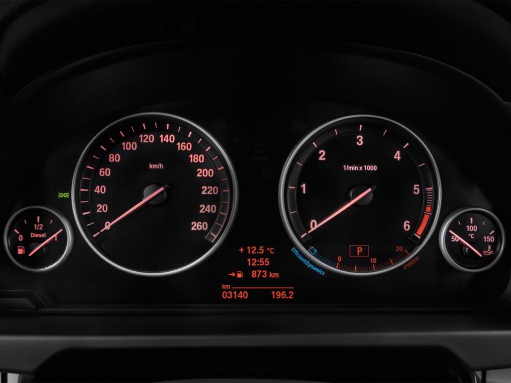 Image: 2016 BMW X5 AWD 4-door xDrive35d Instrument Cluster ...
