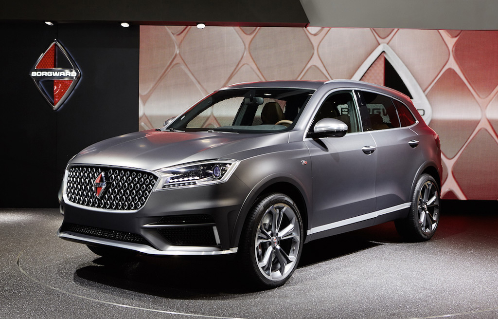 2016 Borgward BX7 first look