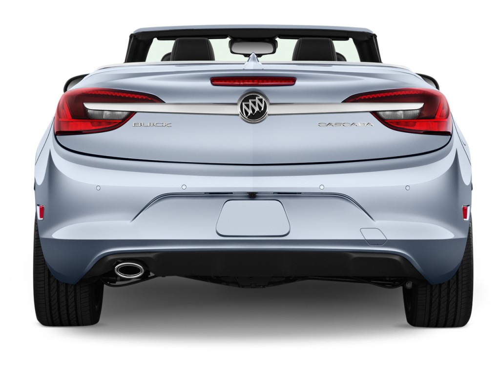 Image 2016 buick cascada 2 door convertible premium rear for Cascada exterior
