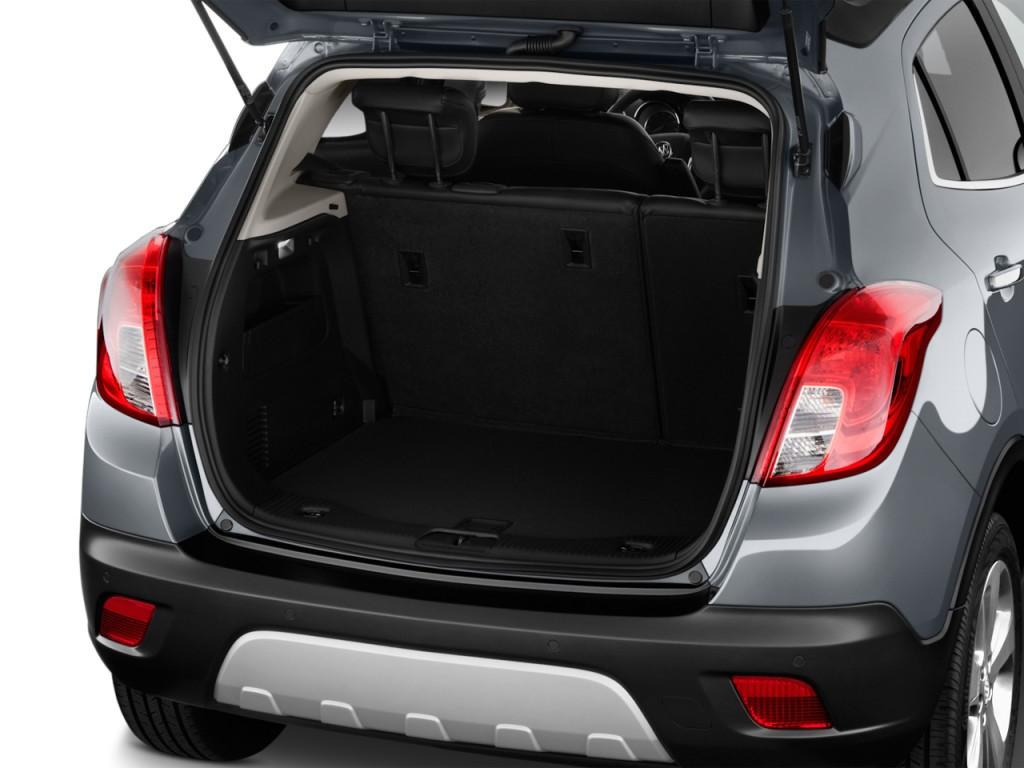 Image: 2016 Buick Encore FWD 4-door Sport Touring Trunk ...