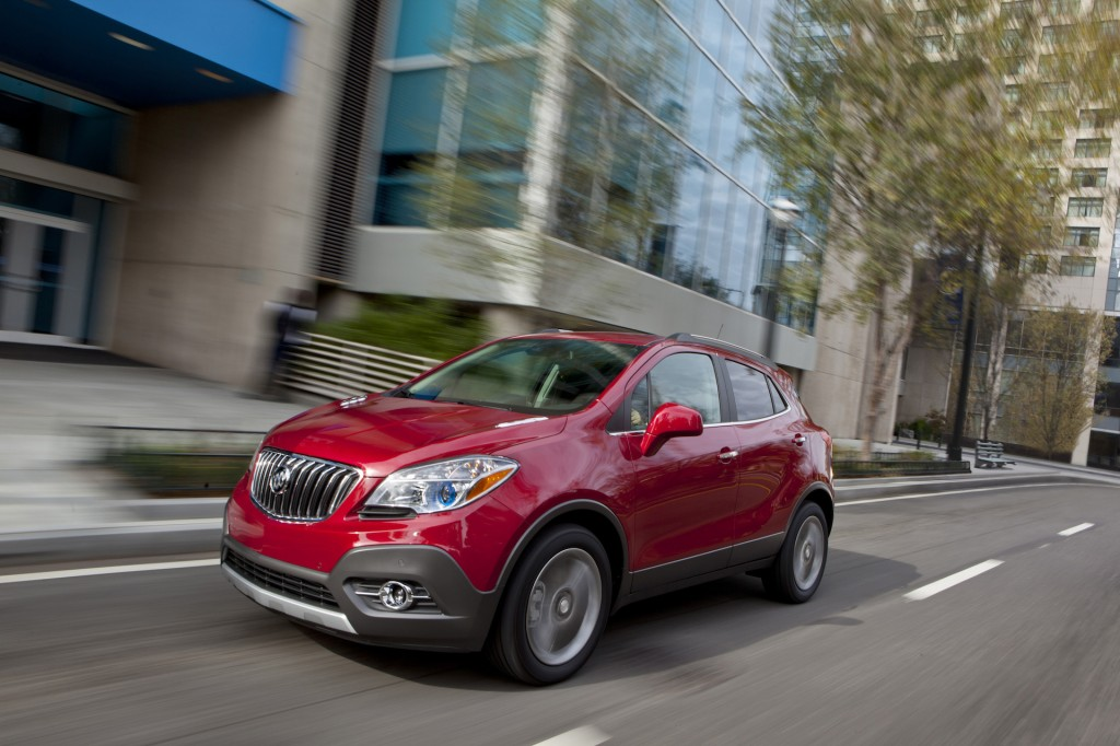 2016 Buick Encore Review Ratings Specs Prices And Photos The Car Connection