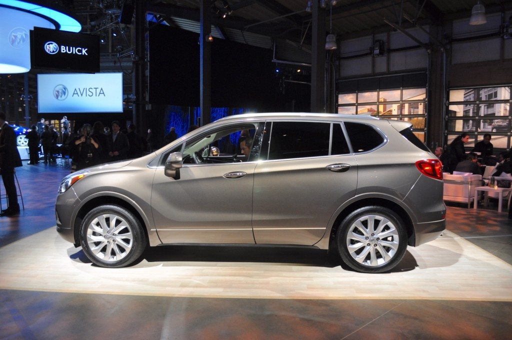 Image: 2016 Buick Envision, 2016 Detroit Auto Show, size ...