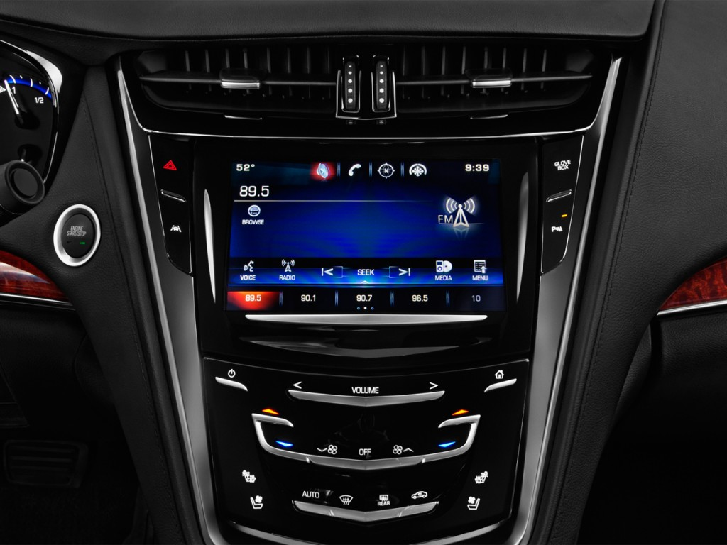 Image: 2016 Cadillac CTS 4-door Sedan 3.6L Luxury Collection RWD Audio System, size: 1024 x 768 ...