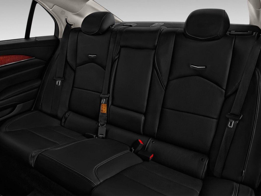 image 2016 cadillac cts 4 door sedan 3 6l luxury collection rwd rear seats size 1024 x 768. Black Bedroom Furniture Sets. Home Design Ideas