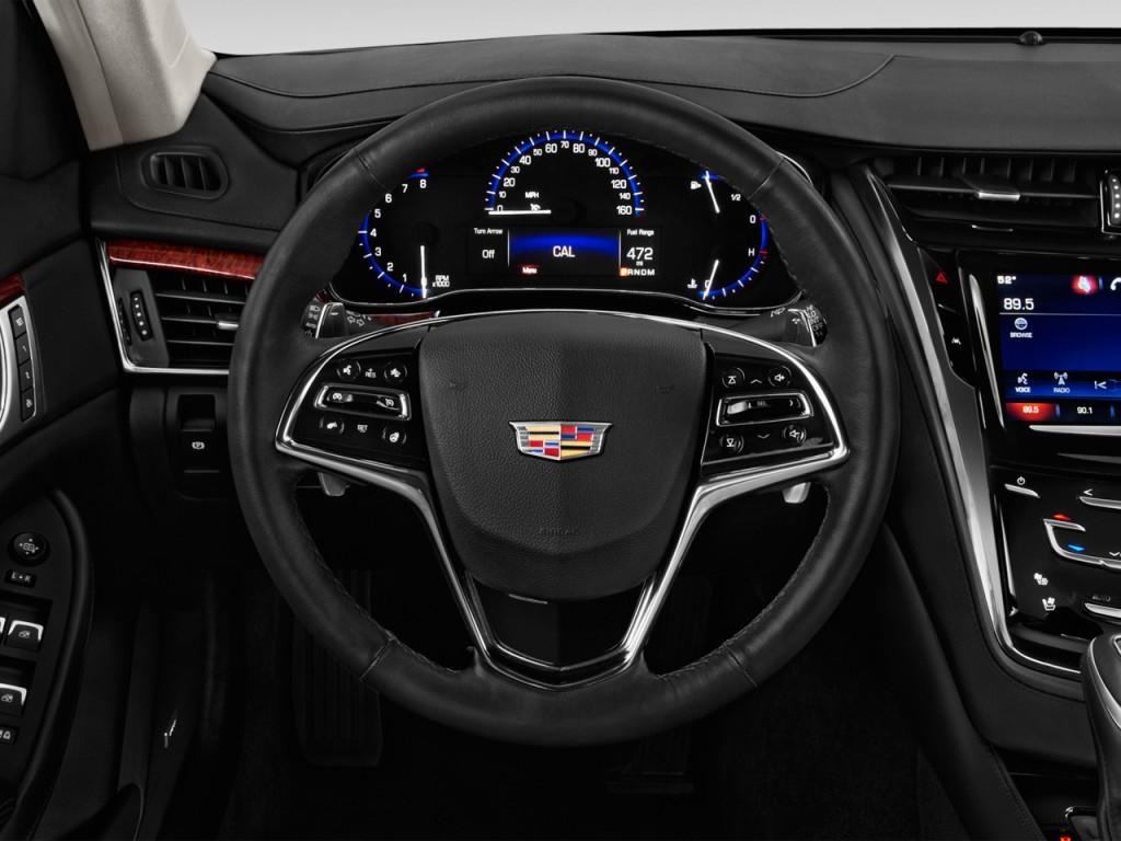 image 2016 cadillac cts 4 door sedan 3 6l luxury collection rwd steering wheel size 1024 x. Black Bedroom Furniture Sets. Home Design Ideas