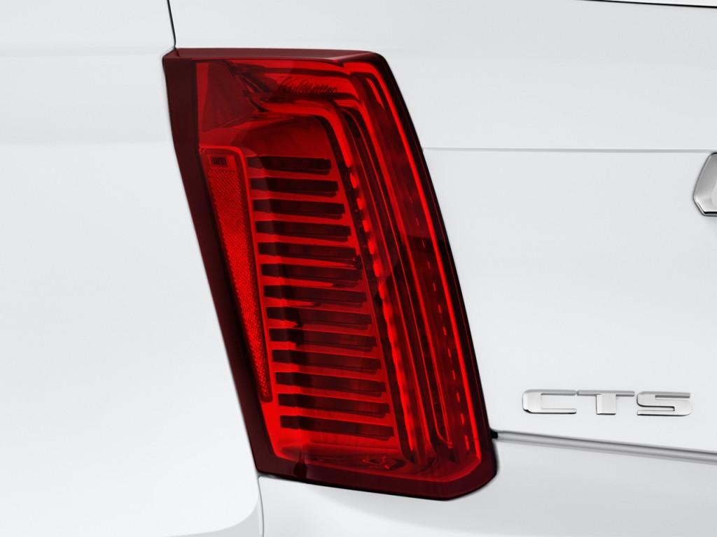 Cadillac Cts Door Sedan L Luxury Rwd Tail Light L