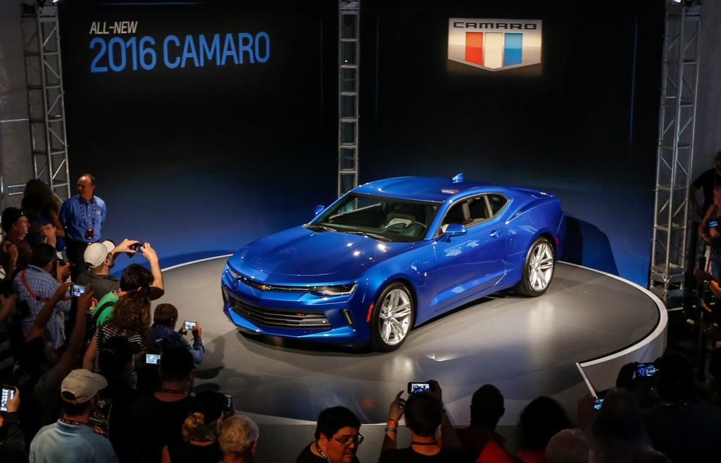 2016 Chevrolet Camaro, Belle Isle reveal