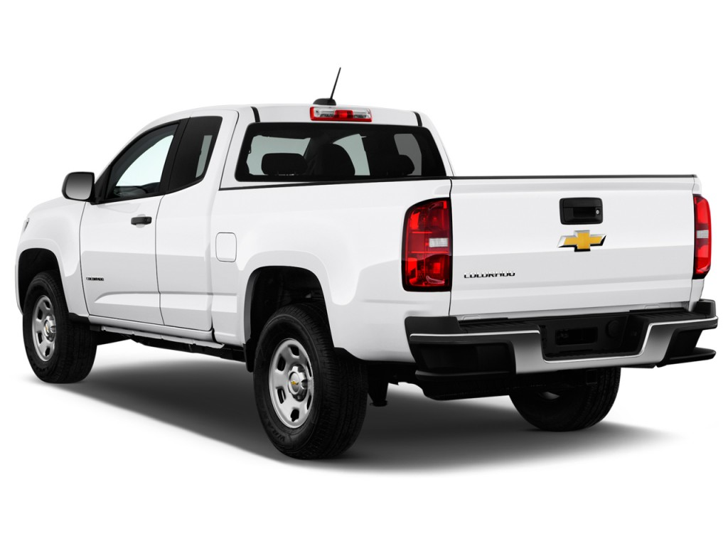 image 2016 chevrolet colorado 2wd ext cab 128 3 wt angular rear exterior view size 1024 x. Black Bedroom Furniture Sets. Home Design Ideas