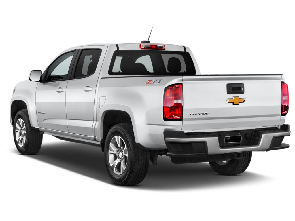image 2016 chevrolet colorado 4wd crew cab 128 3 z71 angular rear exterior view size 1024 x. Black Bedroom Furniture Sets. Home Design Ideas