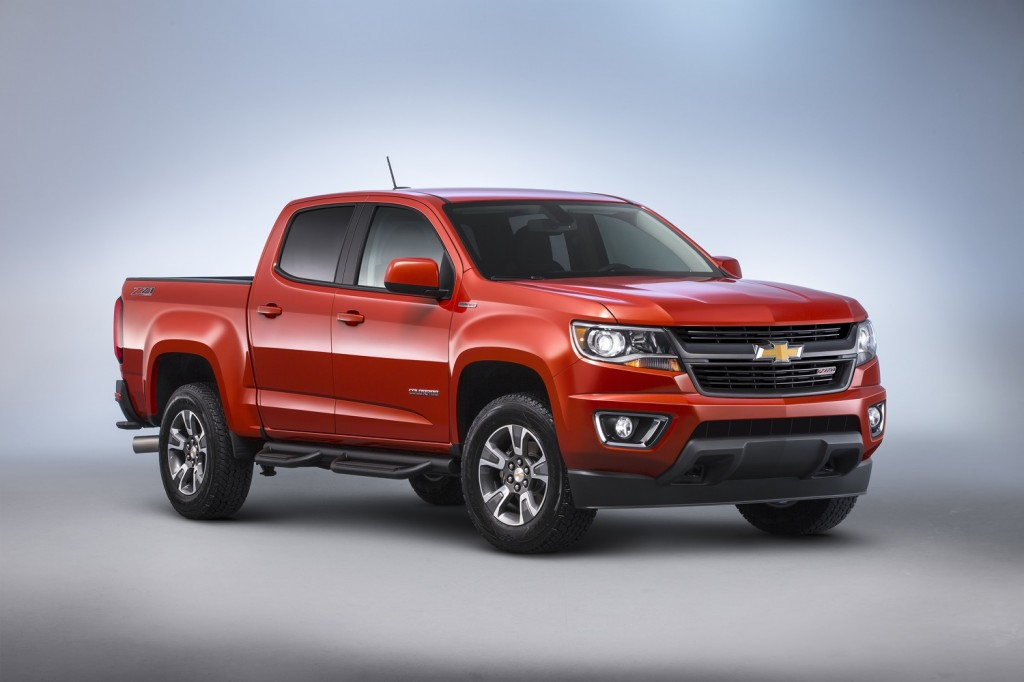 2016 Chevy Colorado Sel Pickup Priced At 31 700 Fuel Efficiency To Come Later