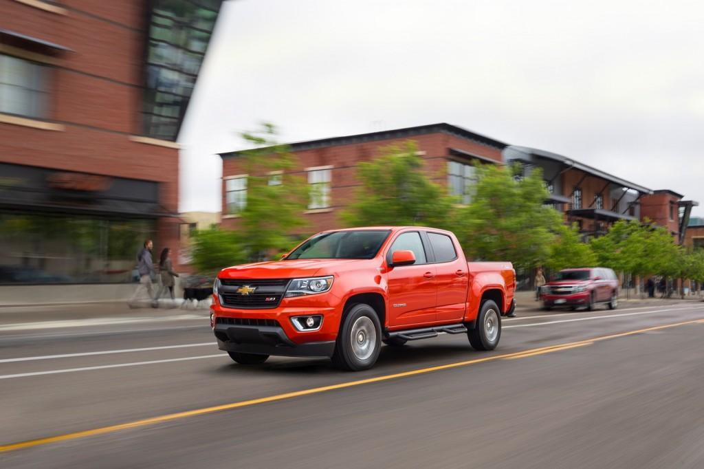 2017 Chevrolet Colorado Vs 2017 Nissan Frontier Compare Trucks