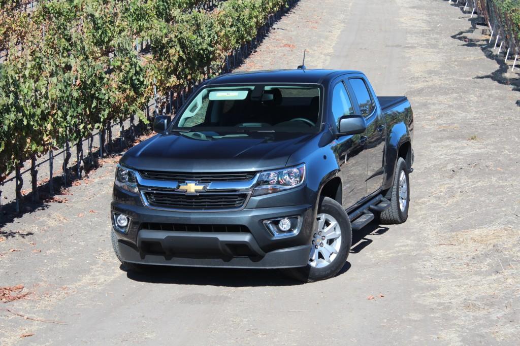 2016 Chevrolet Colorado Diesel First Drive