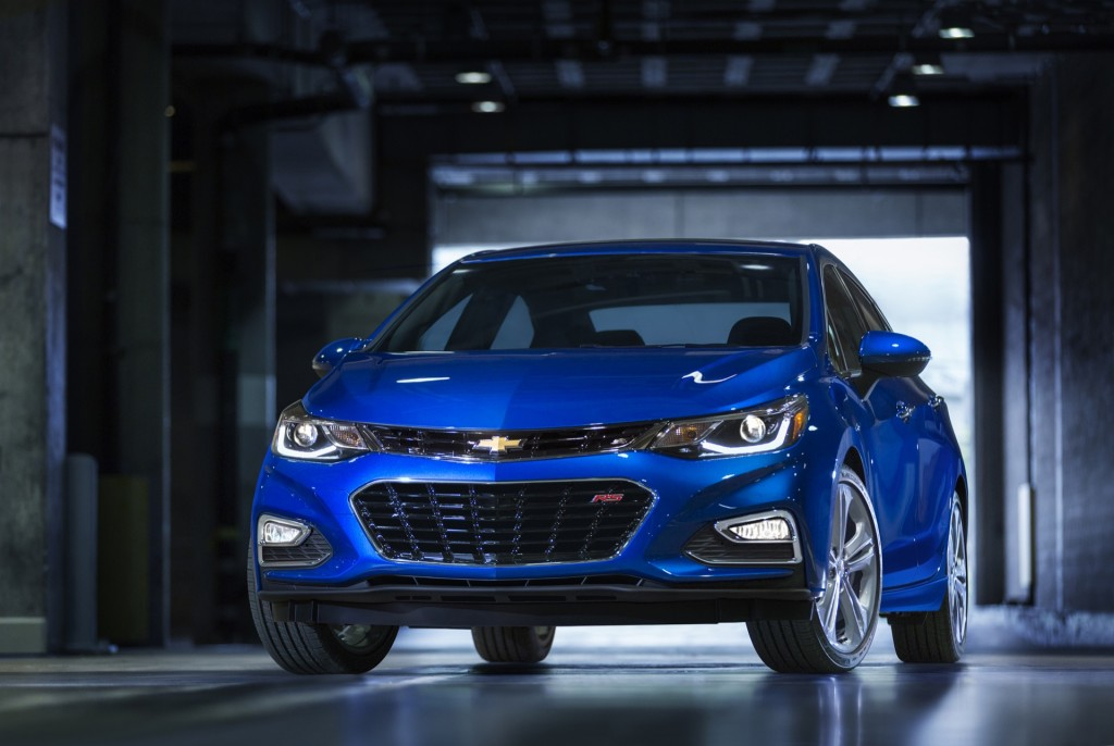 Lighter, Longer 2016 Chevrolet Cruze Revealed; Hatchback On The Way? Live Photo Gallery