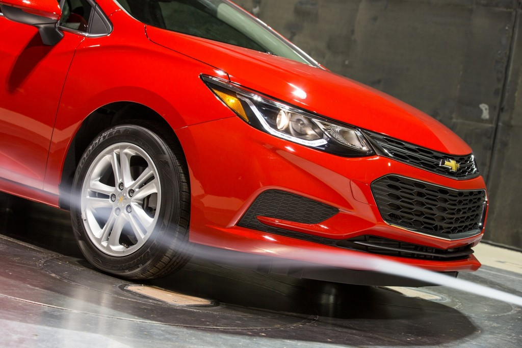 112,000 Chevrolet Cruze compact cars recalled over potential fuel leak
