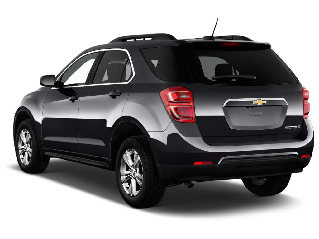 Image 2016 chevrolet equinox fwd 4 door lt angular rear for Rear exterior door