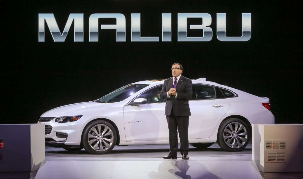 2016 Chevrolet Malibu More Tech More Space Less Weight