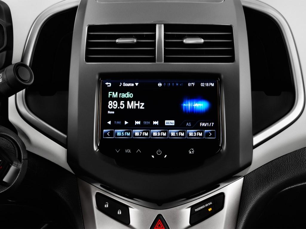Image: 2016 Chevrolet Sonic 4-door Sedan Auto LTZ Audio System, size: 1024 x 768, type: gif ...