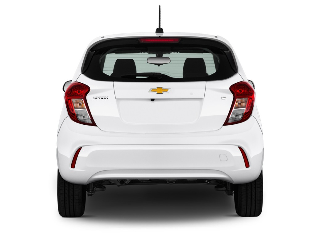 image 2016 chevrolet spark 5dr hb cvt lt w 1lt rear. Black Bedroom Furniture Sets. Home Design Ideas