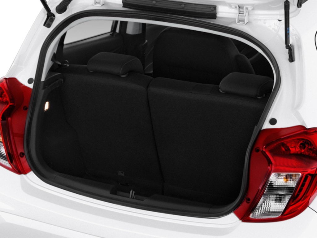 image 2016 chevrolet spark 5dr hb cvt lt w 1lt trunk. Black Bedroom Furniture Sets. Home Design Ideas