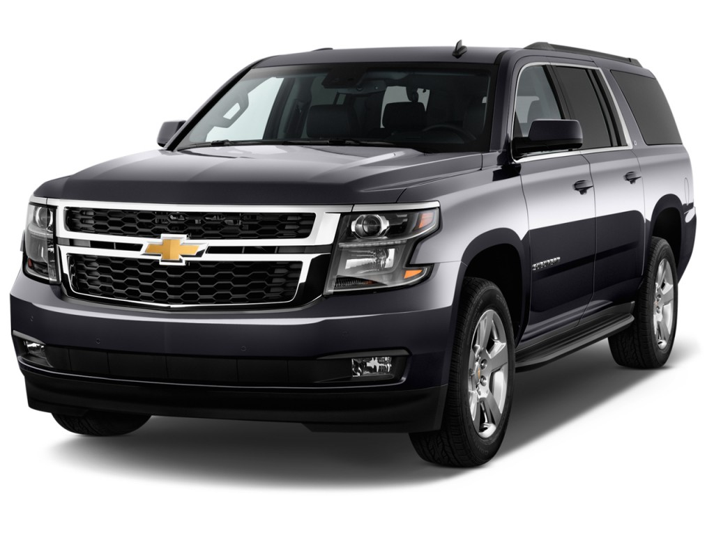 Acura Suv 2016 >> Image: 2016 Chevrolet Suburban 2WD 4-door 1500 LT Angular Front Exterior View, size: 1024 x 768 ...