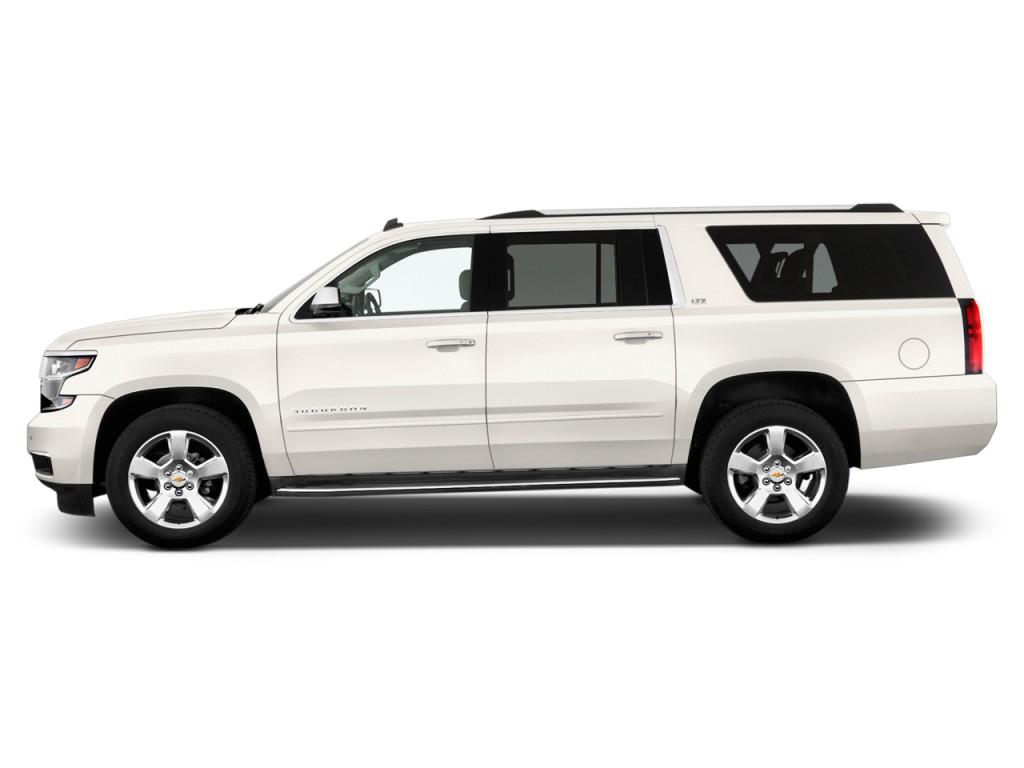 2016 Dodge Ram Reviews >> Image: 2016 Chevrolet Suburban 4WD 4-door LTZ Side Exterior View, size: 1024 x 768, type: gif ...