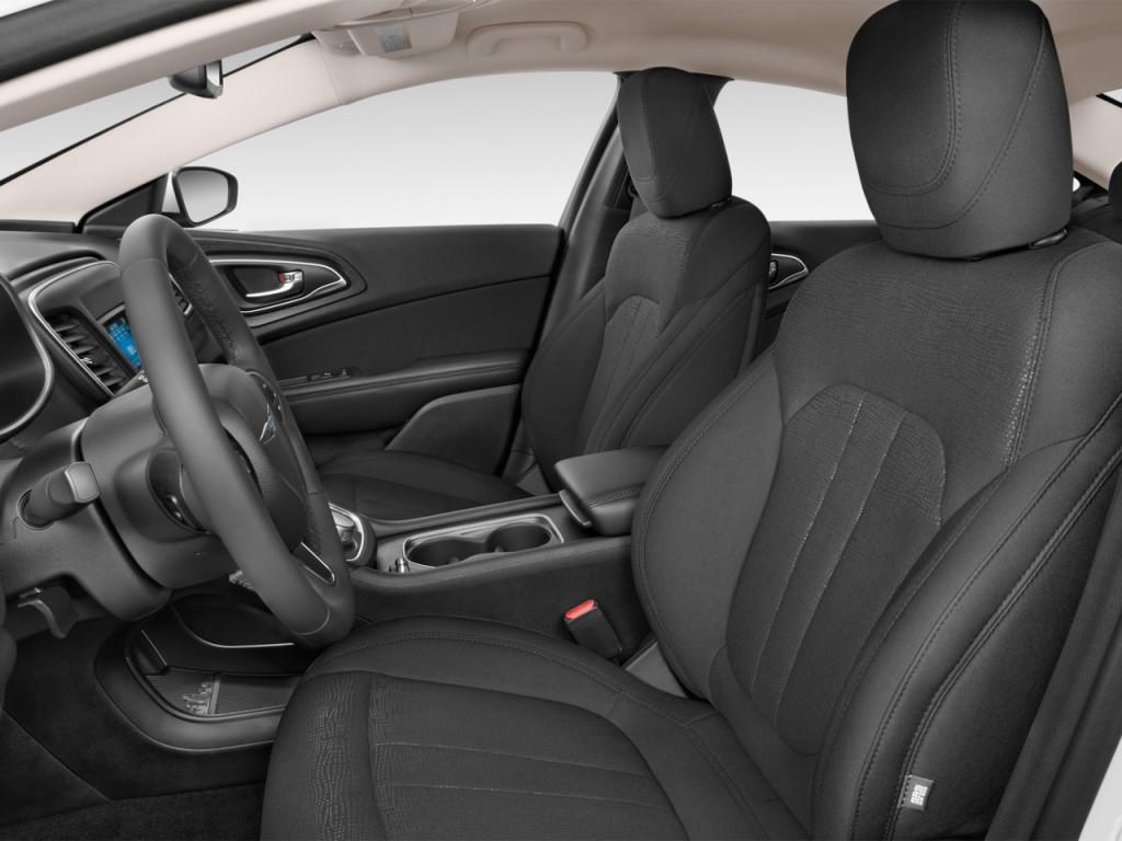 image 2016 chrysler 200 4 door sedan limited fwd front seats size 1024 x 768 type gif. Black Bedroom Furniture Sets. Home Design Ideas