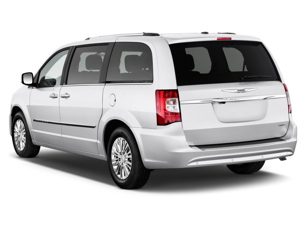 Chrysler Town Country Door Wagon Limited Angular Rear Exterior View L